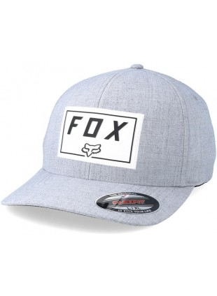 Kšiltovka Fox Trace flexfit hat seel gray