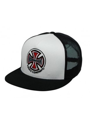 Kšiltovka Independent Truck CO Mesh cap white black