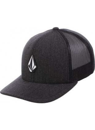 Kšiltovka Volcom Full Frontal Cheese charcoal trucker