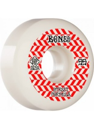 kolečka BONES WHEELS STF Patterns Sidecut V5 55mm 103a 4pk