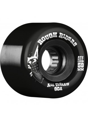 Kola BONES WHEELS Rough Riders Black 59mm 4pk