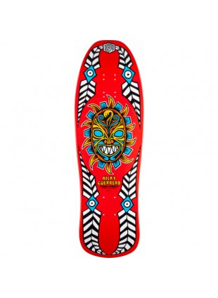 deska Powell Peralta Guerrero Mask Skateboard Deck Red - 10 x 31.75