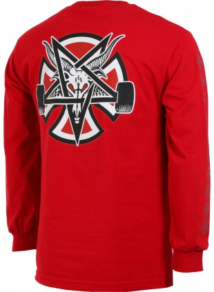 Triko Independent X Thrasher Pentagram Cross L/S Regular