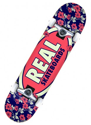 komplet skateboard Real OVAL BLOSSOMS 7,75""