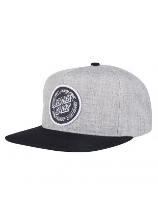 kšiltovka SANTA CRUZ Ring Dot Snapback  Charcoal/Black
