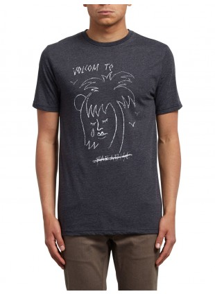 Triko VOLCOM TROPICAL D HTH heather black