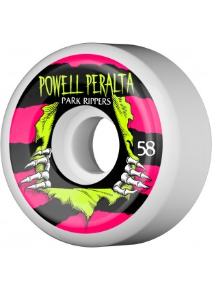 kolečka Powell Peralta Ripper Skateboard Wheels 58mm 104A 4pk